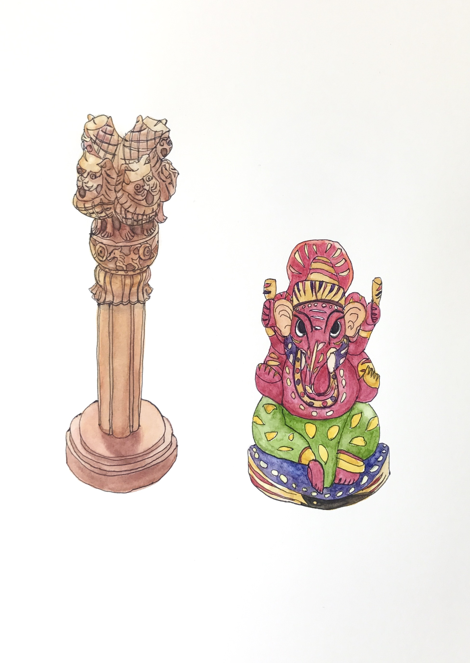 wood carvings from India